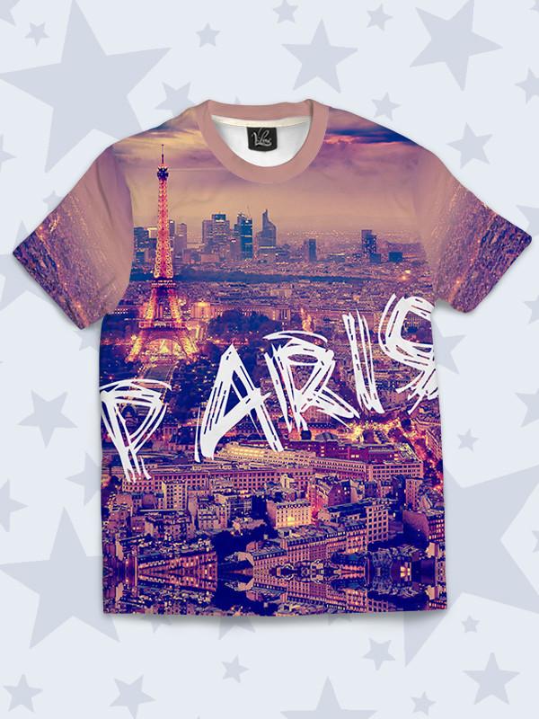 Футболка детская Вечерний Париж
