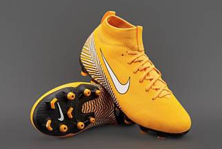 Футбольные детские бутсы Nike Mercurial Superfly VI Academy FG / MG