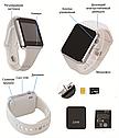 Комплект Смарт-часы Smart Watch A1 White + Наручные электронные часы 2Life l2 Black (n-120), фото 2