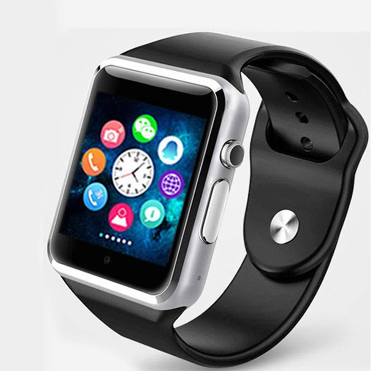 Смарт-часы Smart Watch A1 Black-Silver (vol-30)
