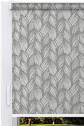 Тканевый ролет Брейд Серый (Бельгия)