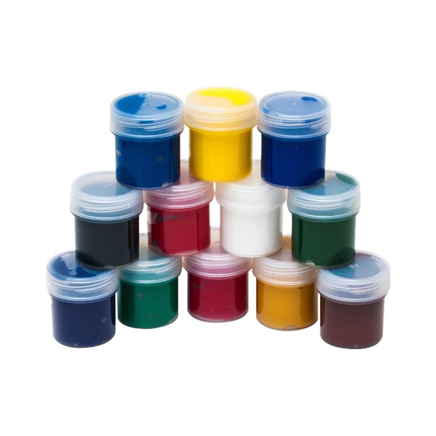 Набор гуашевых красок Rosa 12x20мл