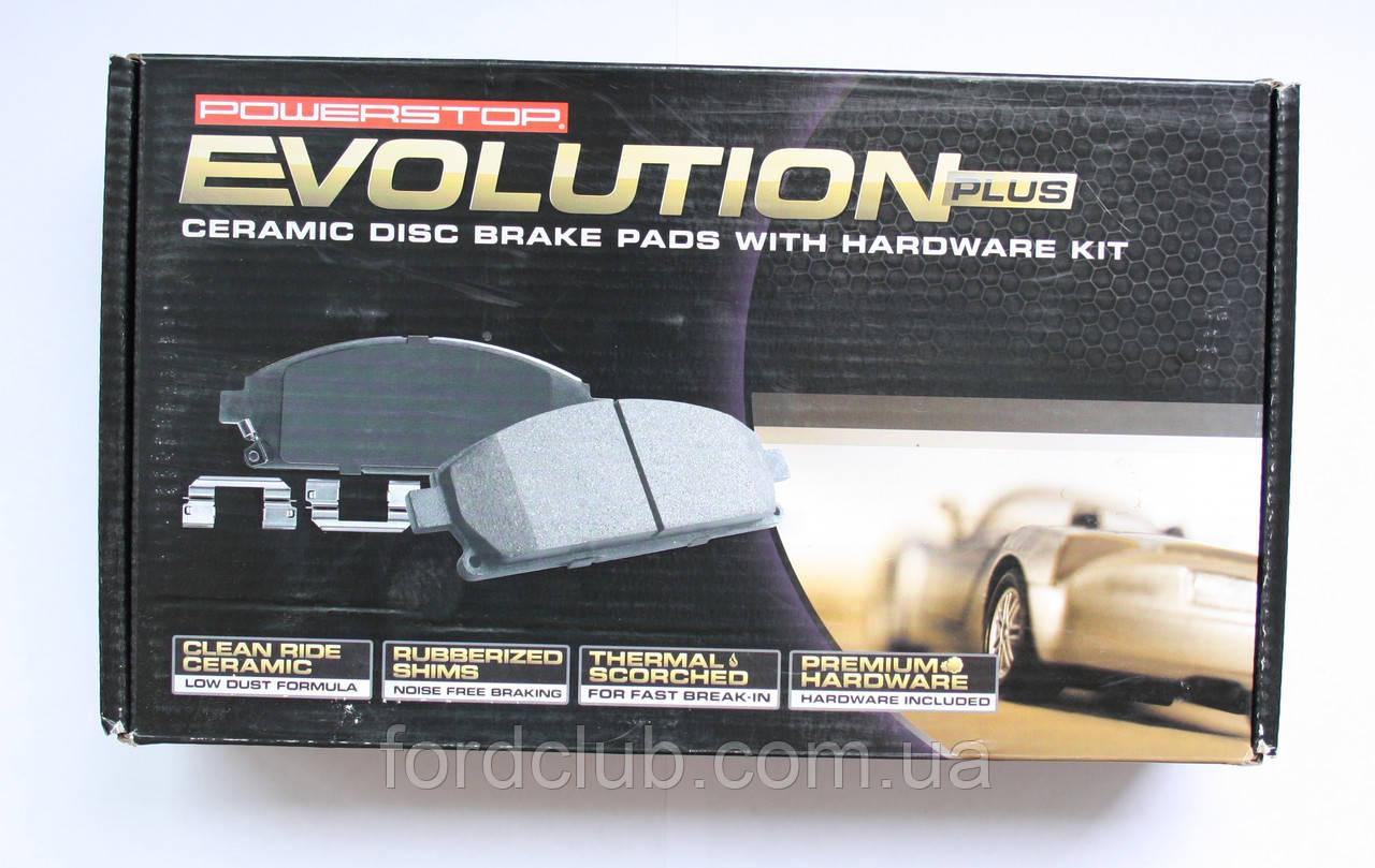 Передние колодки Ford Mustang, POWER STOP Z17 Evolution Clean Ride Ceramic