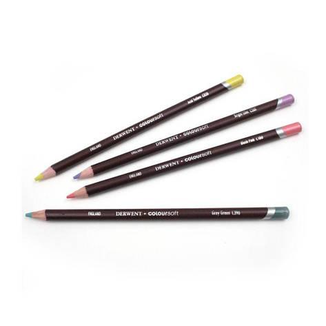 Карандаш цветной Coloursoft (С690), Стальной серый, Derwent, фото 2