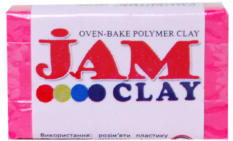 Пластика Jam Clay Розовое сияние 20г