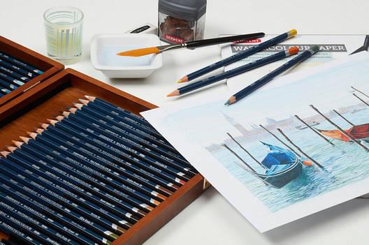 Набор акварельных карандашей Watercolour в мет.короб. 72цв., Derwent, фото 2
