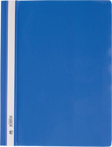Скоросшиватель А4 PP синий, фото 2