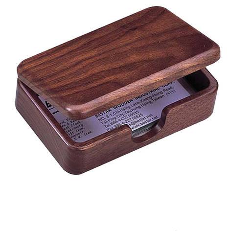 Визитница Bestar деревянная коробочка оех 1315WDN, фото 2