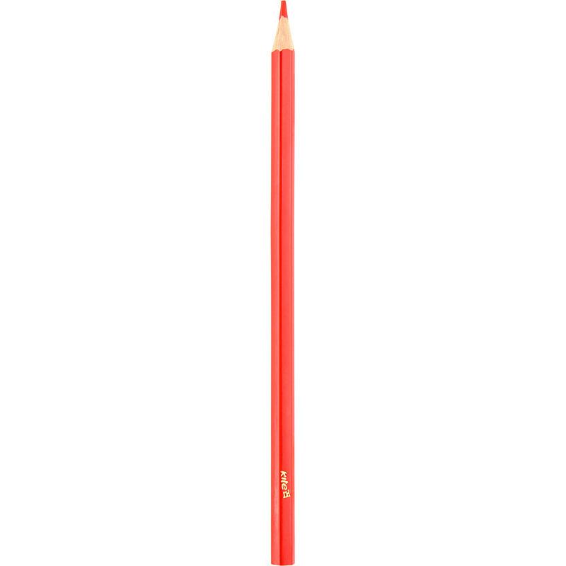 Карандаш цветной Kite красный K17-1051-06
