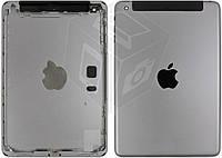 Задняя крышка для iPad Mini 2 Retina (версия 3G), оригинал (черный, Space Gray)