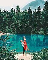 Картина по номерам Свидание у озера 40 х 50 см (с коробкой), фото 1