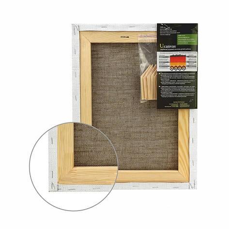 Холст на подрамнике Маэстро крупное зерно 35x75 см масляный грунт лен 4820149863245, фото 2