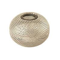 Магнитная подставка для скрепок Buromax Шар 75х75х57мм металлическая серебро (BM.6220-24)