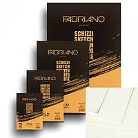 Альбом для эскизов Fabriano A4 120л 120г/м2 Schizzi Sketch склейка 8001348171522
