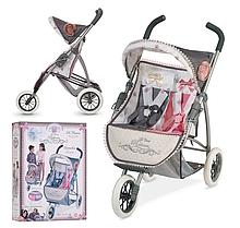 Двухместная прогулочная коляска для кукол DeCuevas 90331