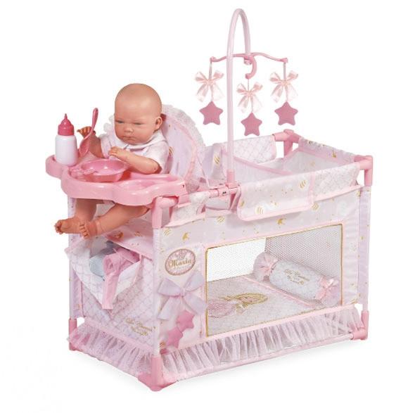 """Манеж-игровой центр для куклы с аксессуарами DeCuevas """"Мария"""" 59 см (53128)"""