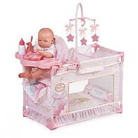 """Манеж-игровой центр для куклы с аксессуарами DeCuevas """"Мария"""" 59 см (53128), фото 1"""