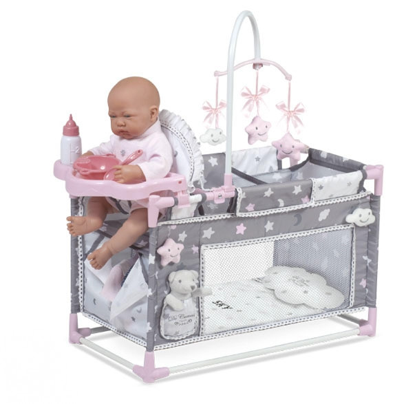 """Манеж-игровой центр для куклы с аксессуарами DeCuevas """"Скай"""" 59 см (53124)"""