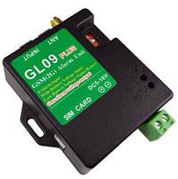 GL09 PLUS канальный (8 входов) GSM контроллер для сигнализации по SMS с контролем питания и выходом для сирены