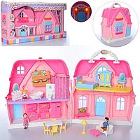 Домик кукольный BLD 501 (3 куколки)