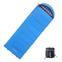 Спальный мешок весна-осень KingCamp Oasis 250 KS3121 Blue