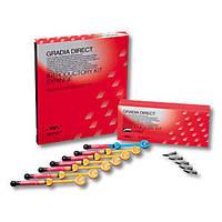 ГРАДИЯ ДИРЕКТ (GC Gradia Direct) , Градія  шприц цвет 4 гр,GC Gradia Direct (Градия Дайрект)  шприц 4 гр