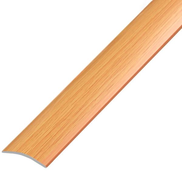 Алюминиевый профиль арт. 280 09 / бук  28х5.4х900 мм