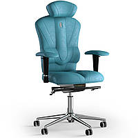 Кресло KULIK SYSTEM VICTORY Антара с подголовником без строчки Аквамарин 8-901-BS-MC-0305, КОД: 1668944