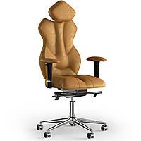 Кресло KULIK SYSTEM ROYAL Антара с подголовником без строчки Медовый 5-901-BS-MC-0310, КОД: 1692615