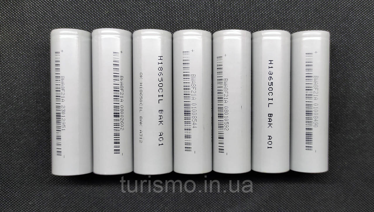 Аккумулятор BAK H18650CIL 2400mAh
