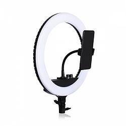 Кільцева світлодіодна лампа для професійної зйомки Soft Ring Light 14