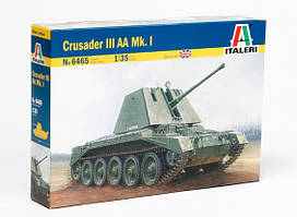 Crusader III AA Mk.1. Сборная модель британского танка в масштабе 1/35. ITALERI 6465