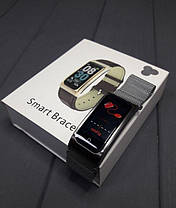 Розумні Фітнес-браслет, розумні годинник X3 Silver, фото 2