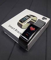 Розумні Фітнес-браслет, розумні годинник X3 Silver, фото 3