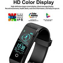 Розумні смарт годинник, фітнес браслет Smart RevolutionBand 2020 Black, фото 3
