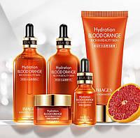 Подарочный набор с экстрактом красного апельсина IMAGES Blood Orange Hydration
