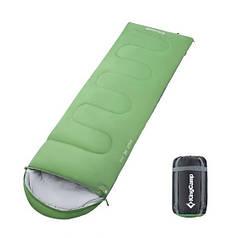 Спальный мешок весна-осень KingCamp Oasis 250 KS3121 Green