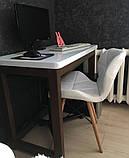 Стілець Стар білий екокожа на дерев'яних ніжках СДМ група (безкоштовна доставка), фото 9