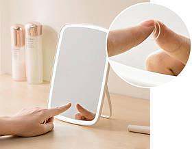 Дзеркало для макіяжу Xiaomi Jordan Judy Tri-color LED підсвічуванням (NV505)