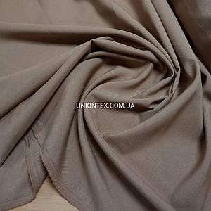 Ткань габардин темно-бежевый