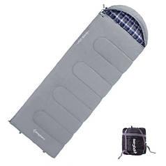 Спальный мешок весна-осень KingCamp Oasis 250 KS3121 Gray