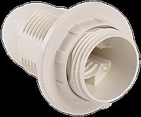 Ппл14-02-К12 Патрон пластик с кольцом, Е14, белый, индивидуальный пакет, IEK (EPP21-02-02-K01)