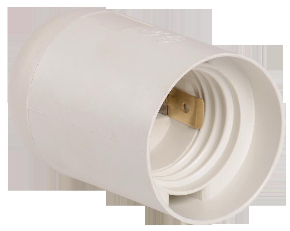 Ппл27-04-К02 Патрон подвесной пластик, Е27, белый, индивидуальный пакет, IEK (EPP10-04-02-K01)