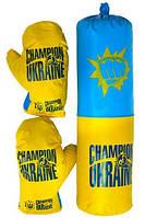 Дитячий набір для боксу Champion of Ukraine середній