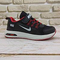 Детские кроссовки Nike оптом 675 black/red (р.31-35) Турция реплика