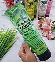 Гель - Скраб Exfoliating Scrub For Face & Body Deep Cleanse Aloe Vera (Алое Вера), 320 ml, фото 1