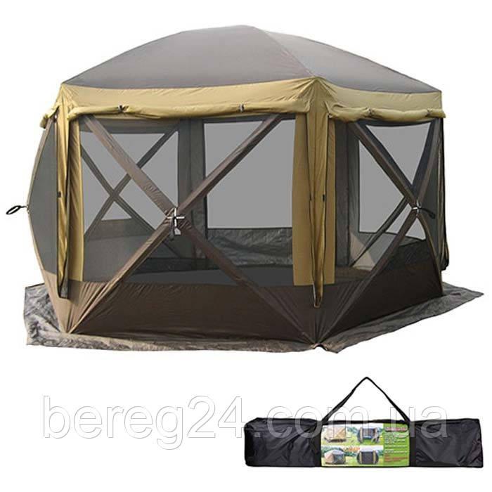 Палатка шатер GreenCamp GC2905-SD 360х360х235cм
