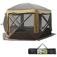 Палатка шатер + пол GreenCamp GC 2905-SD 3.6 *3.6 *2.35