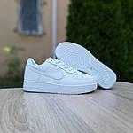 Мужские кроссовки Nike Air Force 1 ' 82 (белые) 10235, фото 2