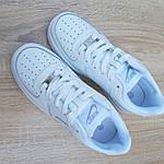 Мужские кроссовки Nike Air Force 1 ' 82 (белые) 10235, фото 4